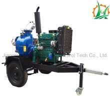 Diesel Trash Self-Priming Sewage Pump Trailer