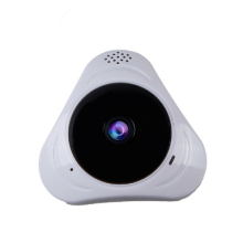 videocamera di sicurezza IP wireless bianca