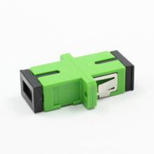 Sc / APC Siglemode Adaptador de Fibra Óptica com Flange