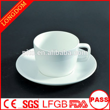 2014 hot sale factory directly porcelain coffee cup set with square hand