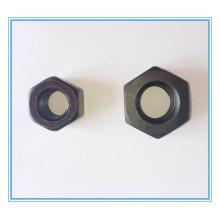M4-M56 de porcas de cabeça hexagonal com aço carbono