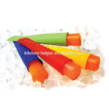 Soft Silicone Ice Popsicle Moldes / Soft Silicone Ice Cream Pops Popsicle Moldes / plástico Popsicle Molde Silicone Ice Cream Pop Molde