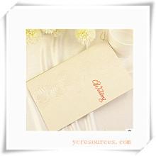 Tarjetas de felicitación para regalo promocional (OI39004)