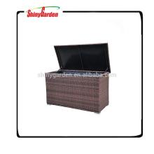 Caja de almacenamiento del amortiguador de la rota / de mimbre del Pe de la alta calidad