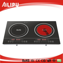 2015 2 Burner CB Certificate 3600 Watt Portable Save Energy Slide Control Electric Induction Cooker
