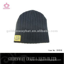 Fashion Beanie Hat Knitted Pattern