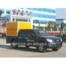 Jiangning 4X2 mini equipo de voladura transportador