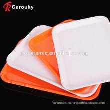 Günstige Preis höchste Qualität quadratischen Teller