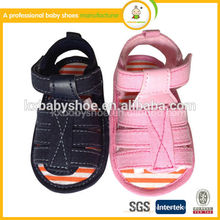 Chaussures bébé de sandale pieds nus pour bébé de haute qualité Chaussures bébé en gros chaussures marquées