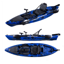 New designed 10ft single cheap sit on wholesale fishing kayak with chair