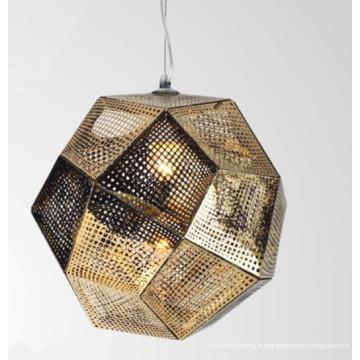 Lampe pendentif moderne en acier inoxydable L4018h1
