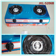 stainless steel 2 burner gas stove,gas cooker