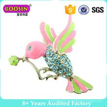 Einzigartige kleine Vogel Form Metall Brosche für Frauen Großhandel