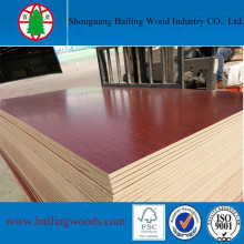 Melamine Mahogany MDF From China Manufacturer