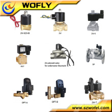 2W-06K Normal Open Water Solenoid Valve