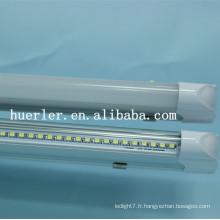 Shenzhen fabricant 220v 240v 0.6 1.2m 10w t5 led tube lighting