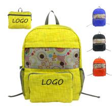 High quality nylon wholesale foldable waterproof backpack popular sports foldable pack bag travel backpack for men women