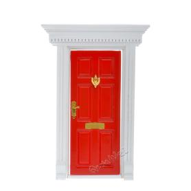 Doll house Wood Yorktown Door Painted