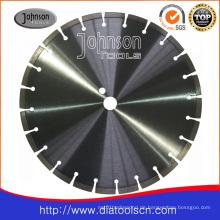 350mm Laser Diamant Sägeblatt für verstärkten Beton