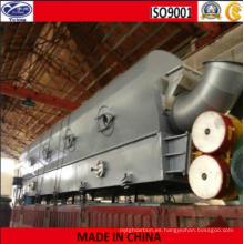 Secador vibrante de lecho fluidizado de carbón activado