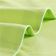 Feuille de tissu de literie de rayure pour l'hôtel