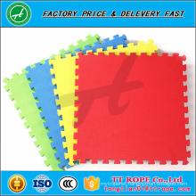 Harmless no pungent smell solid color eva foam mats