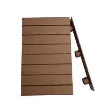 Acessórios compostos plásticos de madeira / que contornam de WPC / acessórios do Decking de WPC / revestimento do Decking de WPC / selagem da borda de borda do Decking de WPC (F150H25)