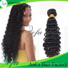 Nouveau produit 100% non transformés de cheveux humains Remy Extension de cheveux vierges
