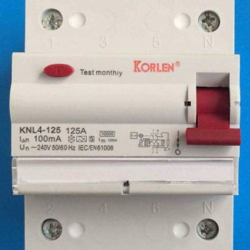 100A 240V Residual Current Circuit Breaker