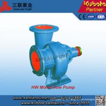 Horizontal-Mischstrom-Zentrifugalwasserpumpe der Hw-Serie