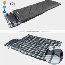 Ромб 210t полиэстер Открытый путешествия Пешие прогулки Кемпинг аварийный армии Мумия спальный мешок
