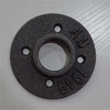 malleable iron pipe flanges for furniture table