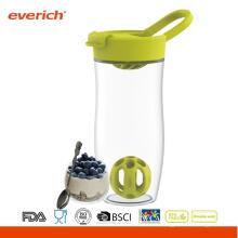 Everich 24oz BPA-libre Tritan fácil llevar sacudidor botella