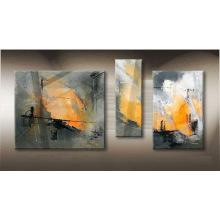 Peinture à l'huile abstraite à prix abordable Leasted Wall Decor