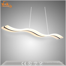 Moderna lámpara decorativa de LED para comedor colgante de luz