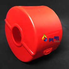 flange protector bands and spray safety shields