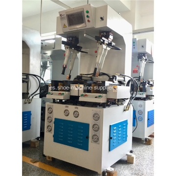 PLC Control Heavy-duty emparedado Sole Attaching Machine