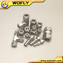 Industriales y de laboratorio de gas accesorios de tubería de tubo de acero inoxidable fabricante