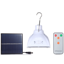 Camping solaire LED éclairage ampoule pour les marchés ruraux