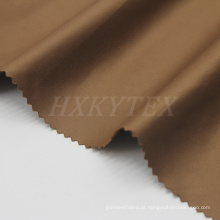 Tela poli do Spandex da fibra de 75D T400 para o revestimento acolchoado