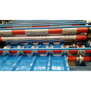 Double dek roll membentuk Mesin