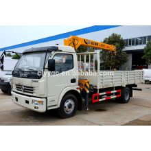 Dongfeng 3200kgs Truck with Crane, Samllest 360 Ratation Crane Truck for Sale