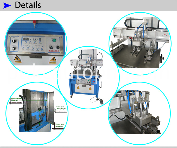 Glass Screen Printing Machine