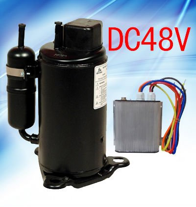 Dc power air cooled ac system for tele communication basis for Air compressor for pool closing