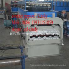 Máquina de fabricação de painéis de parede de contentores