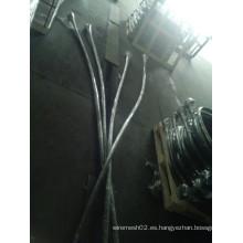 Alambre galvanizado solo del lazo para atar