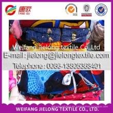 weifang Tejidos de impresión de poliéster de tela por mayor en stock