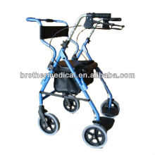 Aluminum liquid coated frame rollator
