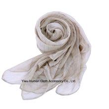 Mujeres impresas diseño suave bufanda ligera