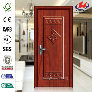 JHK-001 Modern Designs PVC Plastic Interior Door